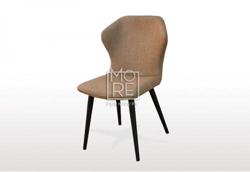 Asari Fabric Dining Chair Beige