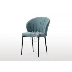 Circle C003 Velvet Dining Chair Grey