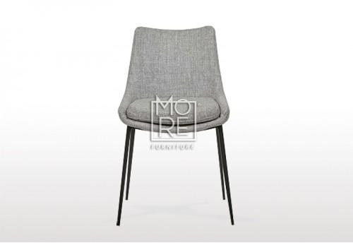Civic C070 Fabric Dining Chair Grey