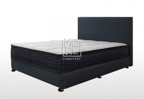 C01 Baxter Fabric Bedhead with Base Night