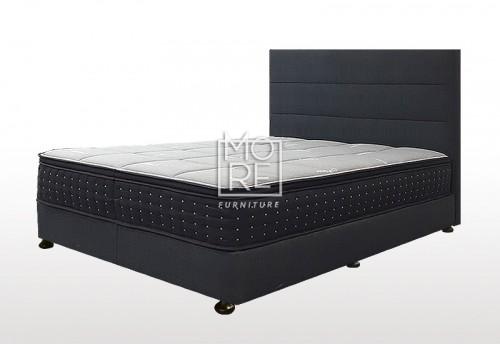 C05 Marli Fabric Bedhead with Base Night