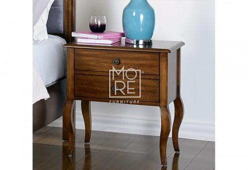Juliette Poplar Timber Bedside Table
