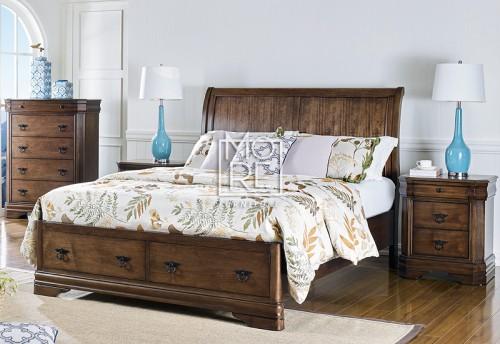 Windsor Poplar Solid Timber Bed Frame