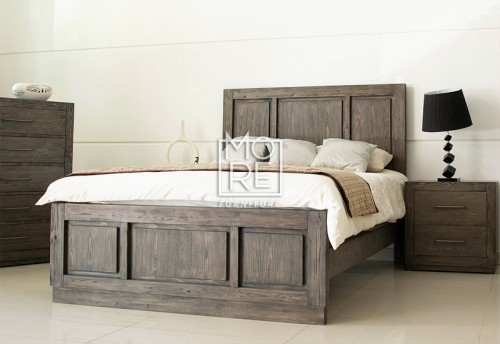 Linfield Poplar Solid Timber Bed Frame