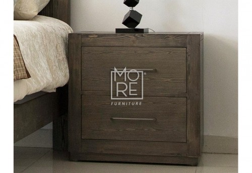 Linfield Poplar Solid Timber Bedside Table