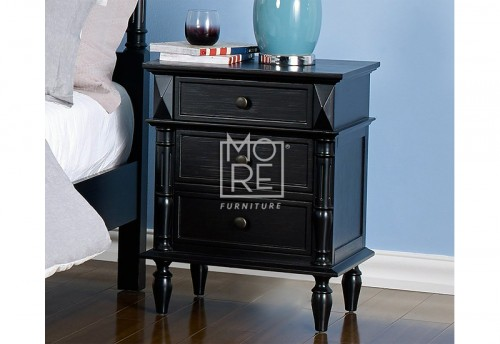 Eva Poplar Solid Timber Bedside Table