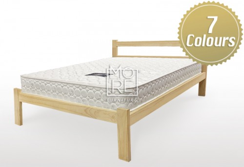 IC Arthur Raw Pine Bed (Stainable)