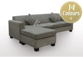 LG SB 1 Seater Fabric Sofa (Sydney Custom Made)