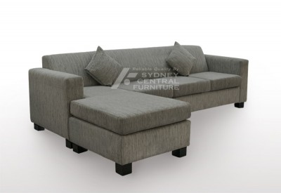 LG HB 4 Seater Chaise Fabric  (Custom Made)