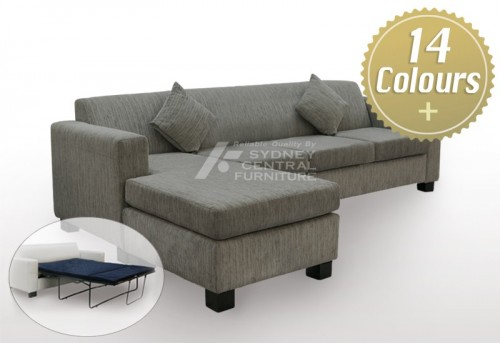 LG SB 1 Seater Fabric Sofa (Sydney Custom Made)