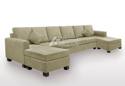 LG SB 6 Seater 2Chaise Premium Fabric (Custom Made)