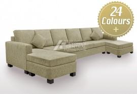 LG Kinny Fabric Designer Sofa (Sydney Custom Made)