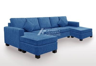 LG SB 5 Seater 2 Chaise Premium Fabric (Custom Made)