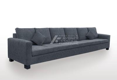 LG SB 6 Seater Premium Fabric Sofa (Custom Made)
