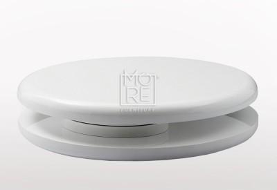 Circle High Gloss Coffee Table White