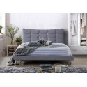 Karla Fabric Bed Frame Mid Grey