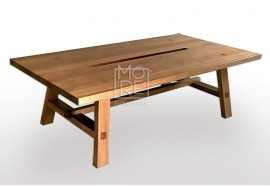 Asari Tassie Oak Timber Coffee Table