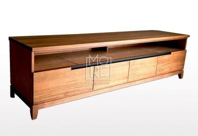 Asari Tassie Oak Timber 2m TV Unit
