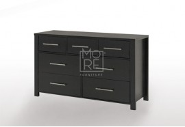 EVE CUE 7 Drawers Dresser Walnut