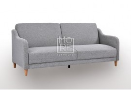 DB Simple Fabric 2Seater Sofa Bed