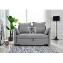 DB Luxury Fabric 2 Seater(1.4m) Sofa Bed