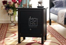 DB NS 2 Drawers Bedside Table