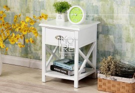 DB Simple Bedside Table with Open Shelf