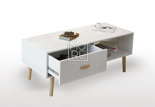 DB Modern  Coffee Table with Oak legs