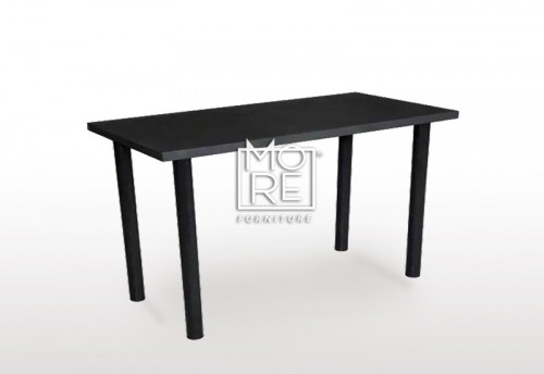 DB Simple Black Home Office Desk 1.2m Desk