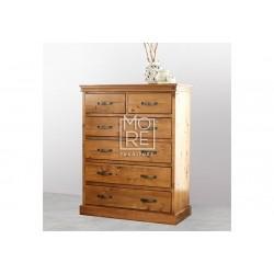 Kipling Chest NZ Pine Solid Timber Tallboy