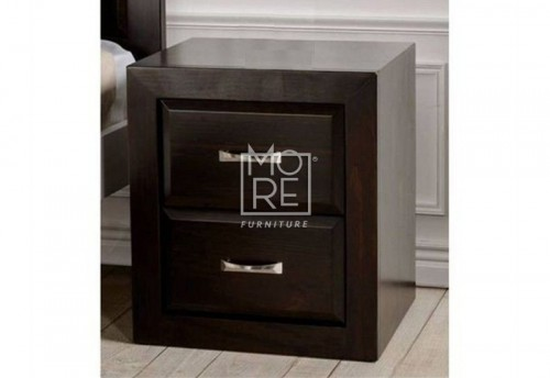 Maxi NZ Pine Solid Timber Bedside Table