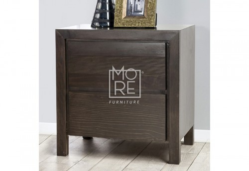 Trend NZ Pine Solid Timber Bedside Table