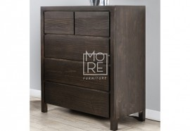 Trend Chest NZ Pine Solid Timber Tallboy