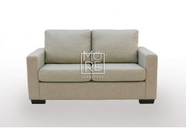 APT 2 Seater Fabric Sofa Taupe
