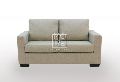 APT 2 Seater Fabric Sofa Taupe