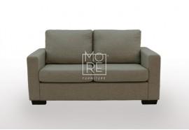 APT 2 Seater Fabric Sofa Chocolate