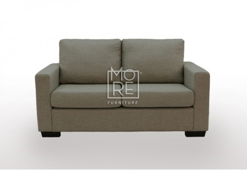 APT 2 Seater Fabric Sofa Chocolate