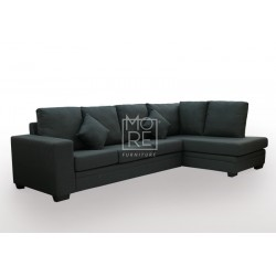 Flinder 4 Seater Fabric Corner Lounge (Right Side)