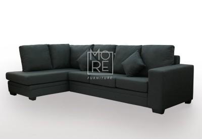 Flinder 4 Seater Fabric Corner Lounge (Left Side)