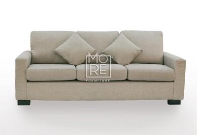 APT 3 Seater Fabric Sofa Taupe