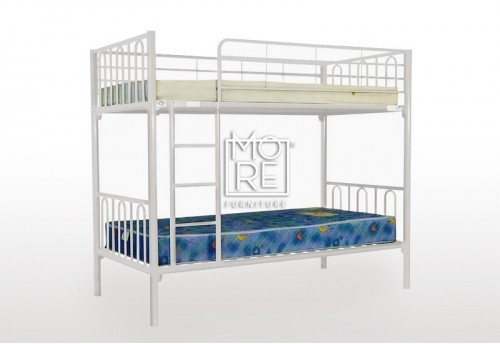 Sydney Metal Bunk Bed White