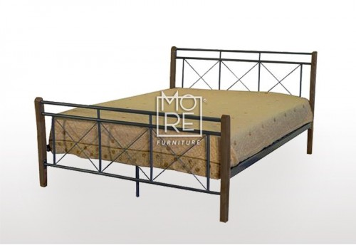 Goldcoast Metal+Timber Bed