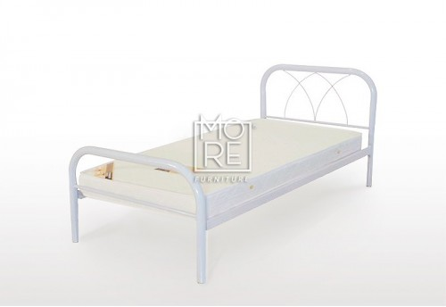Monica Metal Bed Frame White