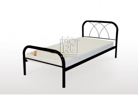 Monica Metal Bed Frame Black
