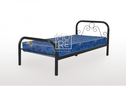 Noel Metal Bed Frame Black