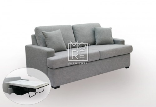 SCF Zoom 2.5 Seater Fabric Sofa Bed (Ready to Go)