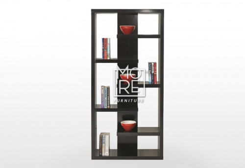 Crayon High Gloss Bookshelf Black