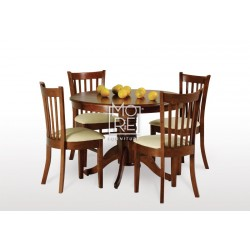 Lismore 5Pce Extension Timber Dining Suite