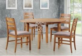 Tapas 5Pcs Extension Timber Dining Suite