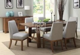Loft Tassie Oak Upholstered in Fabric Chair